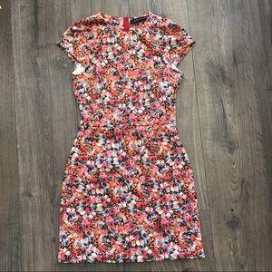 Zara Floral Scuba Dress